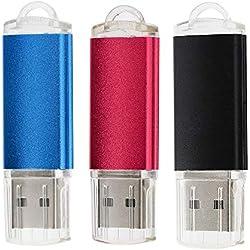 32GB Chiavetta USB Pendrive 32GB, 3 Pezzi 32 GB USB Flash drive 32 GB Pen Drive 32GB Pennetta USB (32GB *3PC)