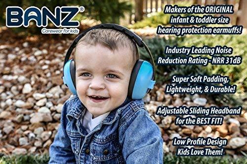 BabyBanz GBB008 Baby-Gehörschutz, 0-2 Jahre - 5