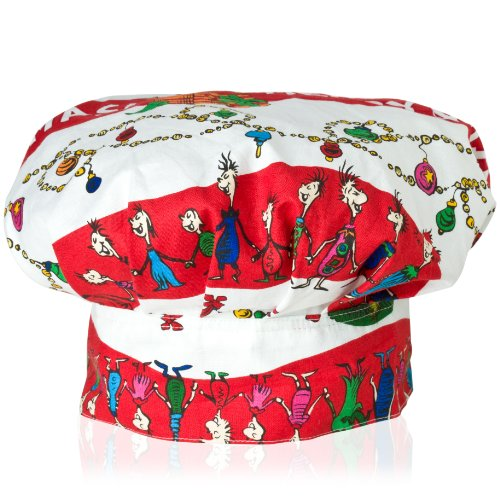 Dr. Suess in the Kitchen Dr. Seuss in the Kitchen Kids Chef's Hat, Merry Grinchmas