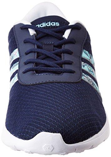 adidas Damen Lite Racer W Niedrige Sneaker, Blau Blau (Maruni/agucla/ftwbla)
