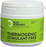 Complete Stimulant Free Fat Burner / Thermogenic for Weight Loss - Pack of 180 Capsules