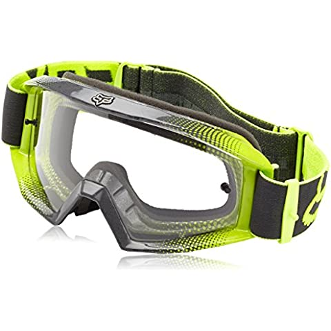 Fox Goggles MAIN Race 2, Race Yellow/Clear, One size, 15365-903