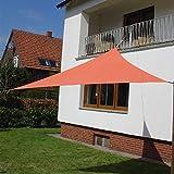 Dekowelten LUXUS Terrassen Sonnensegel der ExtraKlasse 3,75m Terra wasserdicht Regenschutz