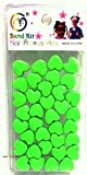 Haarperlen Herz - Hair Beads Heart - Bead Kit GREEN / GRÜN (35pcs) Bild