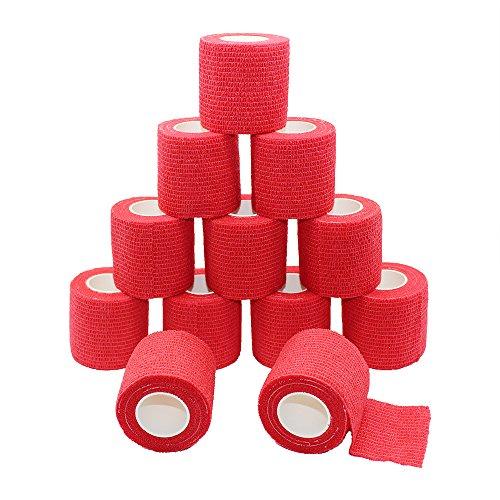 Juego de 12 rollos de cinta adhesiva de 5 metros, cinta autoadhesiva,...