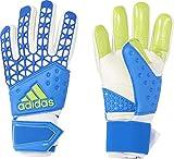 adidas Herren Torwarthandschuhe Ace Zones Pro, Shock Blue S16/White/Semi Solar Slime, 9.5, AH7804