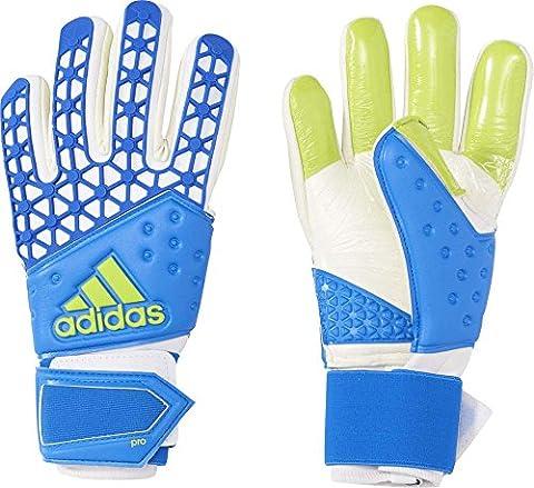 adidas Ace Zones Pro Gants Bleu/Blanc Taille 8,5