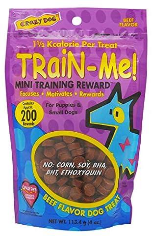 Train-Me Training Rewards Treats Mini 4oz Beef