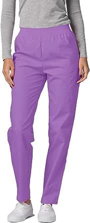 Adar Universal Scrubs for Women - Tapered Utility Cargo Scrub Pants