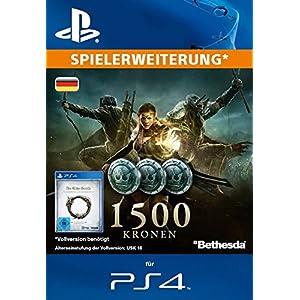 The Elder Scrolls Online : 1500 Kronen [Spielerweiterung] [PS4 PSN Code – deutsches Konto]
