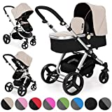 Froggy pushchair pram MAGICA baby stroller buggy 2in1 travel system with carrycot