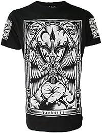 Baphomet Original Darkside Herren T-Shirt Occult Nu Satanic Gothic Alternative Goth Kleidung