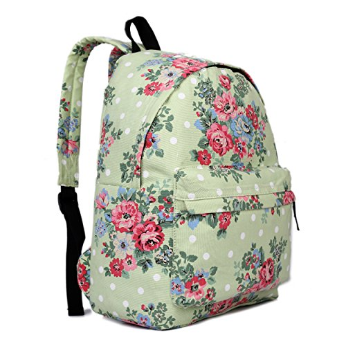 butterfly-flower-polka-dot-retro-fashion-backpack-rucksack-floral-green