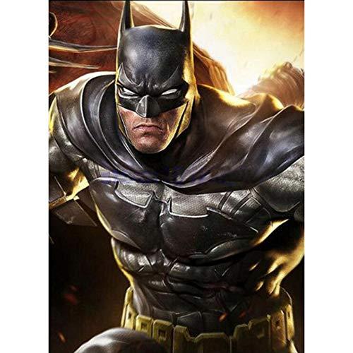 (23.6x35.4inch) DIY 5D Batman Film Diamant Malerei Kreuzstich Voller Diamanten Mosaik Nadel Handwerk Dekoration Malerei
