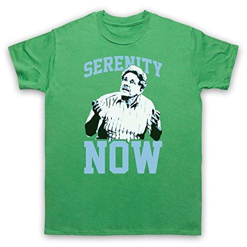 Seinfeld Frank Costanza Serenity Now Herren T-Shirt Grun