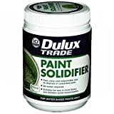 2 x Dulux® Paint Solidifier Professional DIY Waste Paint Hardener Fast Dry Universal Activator 500g