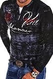MT Styles 2in1 Longsleeve P-MONACO Blau R-0760