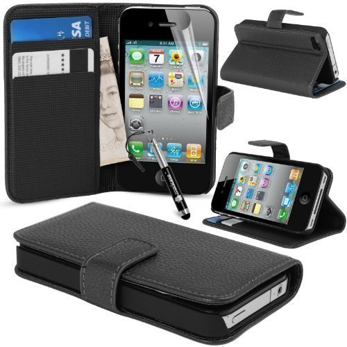 Used, MadCase® Premium Apple iPhone 4s / 4 PU Leather Credit for sale  Delivered anywhere in UK