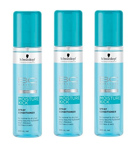 Schwarzkopf BC Moisture Kick Cond 200ml 3er Pack - Bc Spray Conditioner