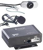 Callstel Freisprech-Einrichtung: Autoradio-Freisprecher & Streaming-Empfänger, Bluetooth, ISO-Connector (Freisprech-Anlage)