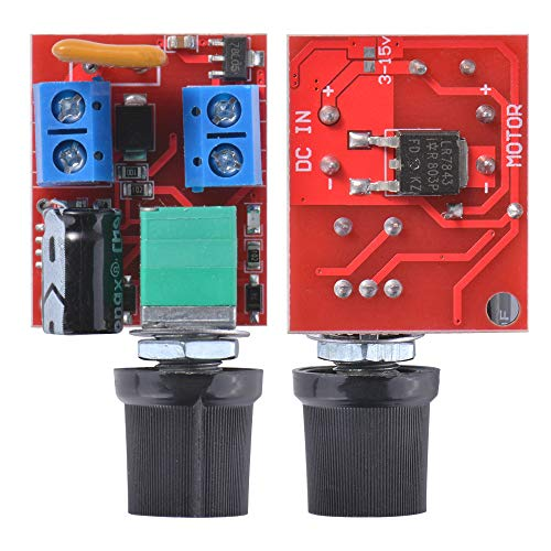 Kreema 5A Motor PWM Geschwindigkeitsregler Schalter LED Dimmer DC 3V-35V Volt Regler TE1153