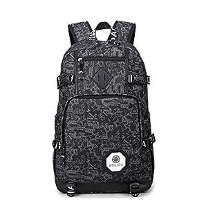 51jnvKNsctL. SS324  - Backpack Mochilas Escolares Mujer Mochila Escolar Lona Bolsa Casual Bolsa De Hombro Mensajero