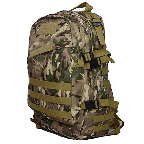 Borsa da montagna all'aperto 40L3D zaino camuffamento militare Arrampicata Escursioni quotidiane di campeggio Borse e borse desert camouflage cp