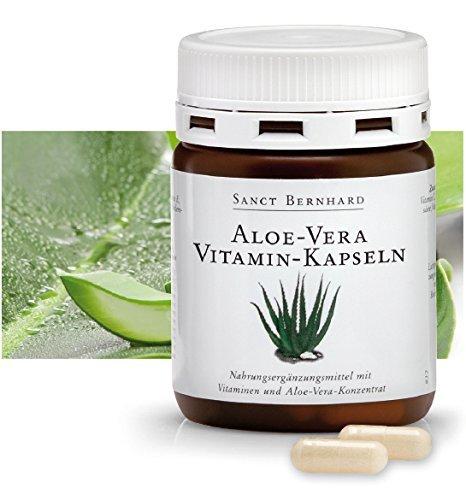 Sanct Bernhard Aloe Vera Vitamin-Kapseln 100 Kapseln (Vitamin-e-kapseln Aloe Mit Vera)
