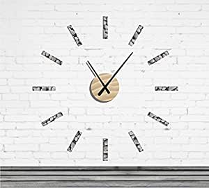 Wall2time - Horloge Design - Modèle Classique gala - Horloge Plexi Bord de mer