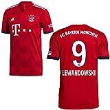 adidas FCB Heimtrikot 2018 2019 Kinder Lewandowski 9 Gr 140