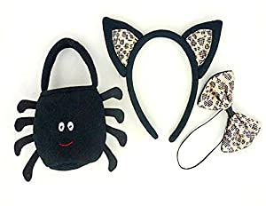 Black Spider Bag Accessories Teddy Bear Clothes fit Build a Bear Teddies
