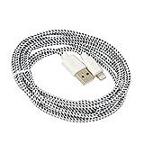 Xtreme 40303 Lightning-kabel voor iPad, iPhone en iPod, bekleding van stof, lengte 2 m