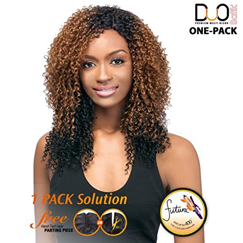 Outre Batik galons de Duo – Caribbean Bundle Hair 5pcs – (4 Pack complet) Weave