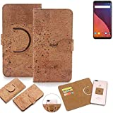 K-S-Trade 360° Cover cork Case for Wiko View 32 GB |