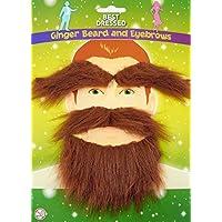 (1, Original Packaging) - Ginger Beard, Moustache and Eyebrow Set