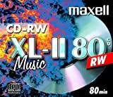 Maxell CD-RW 80Musik Jewel Case [10Stück] 10mm