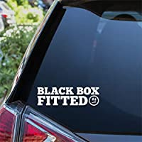 Black Box Sticker Funny Face New Young Driver Car Window Bumper Decal