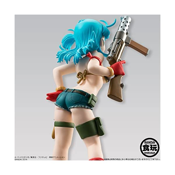 Bandai- Juguete Dragon Ball Styling Bulma, 12 cm, color azul (25360 ) 4