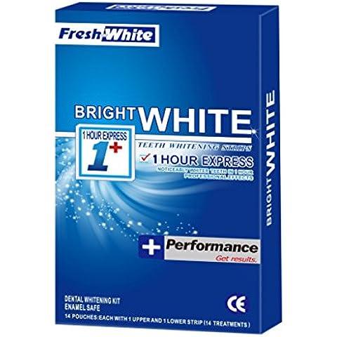 Blanqueamiento de dientes tiras con avanzada tecnología antideslizante - 28 Whitestrips