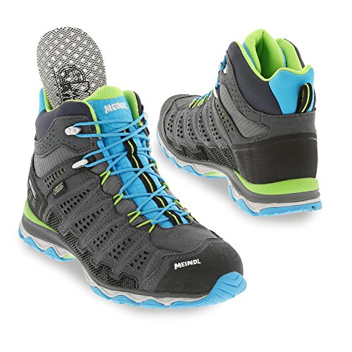 Meindl Schuhe X-SO 70 Lady Mid GTX Surround - türkis/anthrazit 37 1/3