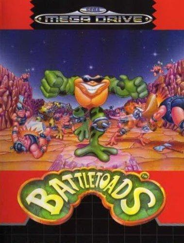 Battletoads [Mega Drive- Spiel / PAL-VERSION].