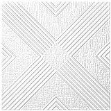 40M2pannelli per soffitto Pannelli di polistirolo Bloccato Soffitto Decorazione Piastre 50x 50cm, N. 73