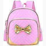 Zmsdt Kinder Schulrucksack Mädchen Rucksack Grundschüler 2-3-6 Klasse Mädchen Belastung Reduktion Ridge Koreanische Version Niedlich (Farbe : Pink)
