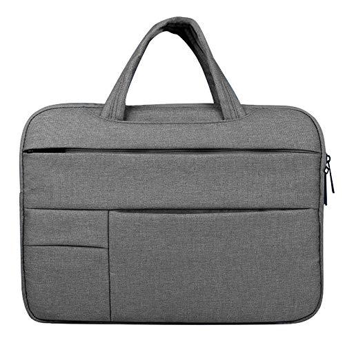 Aktentasche Laptop Hülle Tasche for 15 '' 12 '' 13 '' Cover Notebook Handtasche (Color : Dark gary, Size : 11.6 12 inch) -