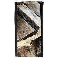 Cartera unisex // M00158456 Albero pila di legno da ardere Natura // Large Size Wallet