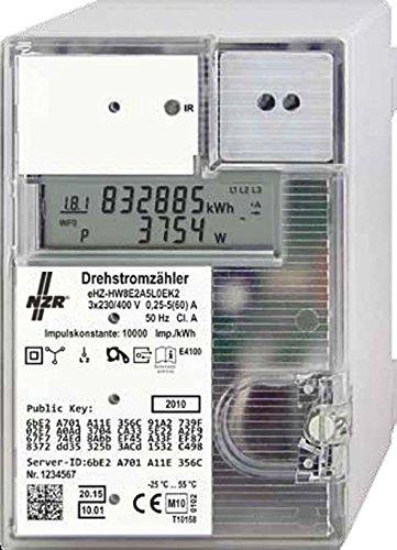 NZR Drehstrom-Steckzähler 23030324 3x230/400 5(60)A Elektrizitätszähler 4048652012329