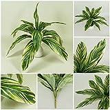 Palmenbusch künstliche Palme Kunstpflanze Dekopflanze Büropflanze Kunstgras (Z 087)
