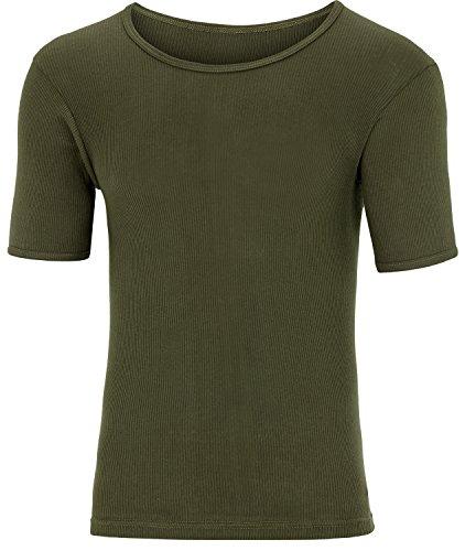 BW Doppelripp Shirt aus 100 % Baumwolle Oliv 6