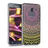 kwmobile Funda para Samsung Galaxy J5 (2015) - Case para móvil en TPU silicona - Cover trasero...