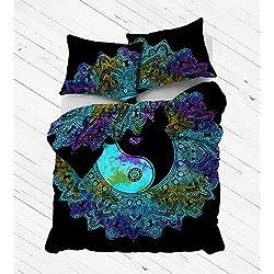 Funda Nordica Mandala - Funda de edredón Decorativa, diseño de Mandala